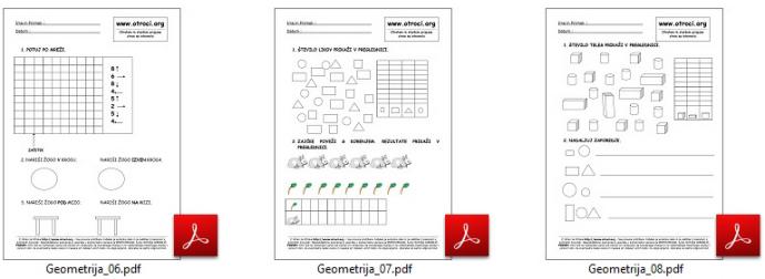 Matematika za 1 razred osnovne sole